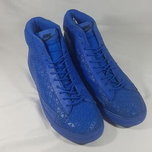 Nike Shoes - Men's Nike Blazer Mid Metric Sport Shoes Blue
